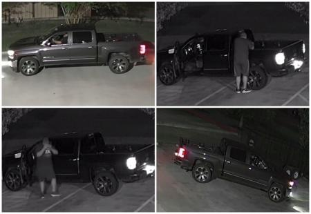 Tomball PD Looking For Trailer Theft Suspect