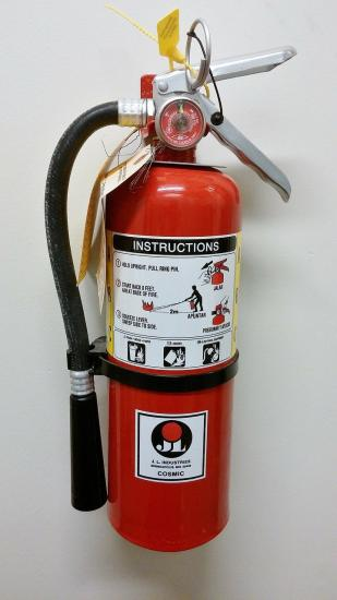 Fire Extinguisher Safety Tip