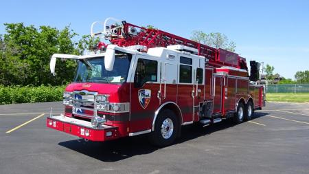 Tomball Fire Gets New Ladder