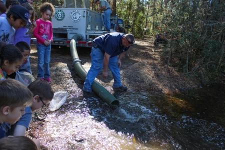 Trout Delivered To Area Parks