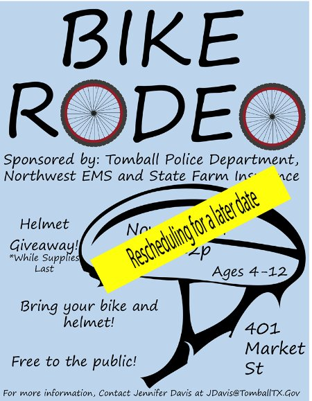 Tomball Bike Rodeo